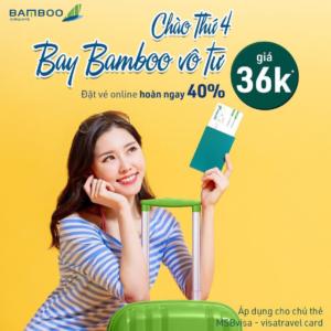 Bamboo Airways - Ưu đãi hấp dẫn cuối năm | Travels and Culture Asia