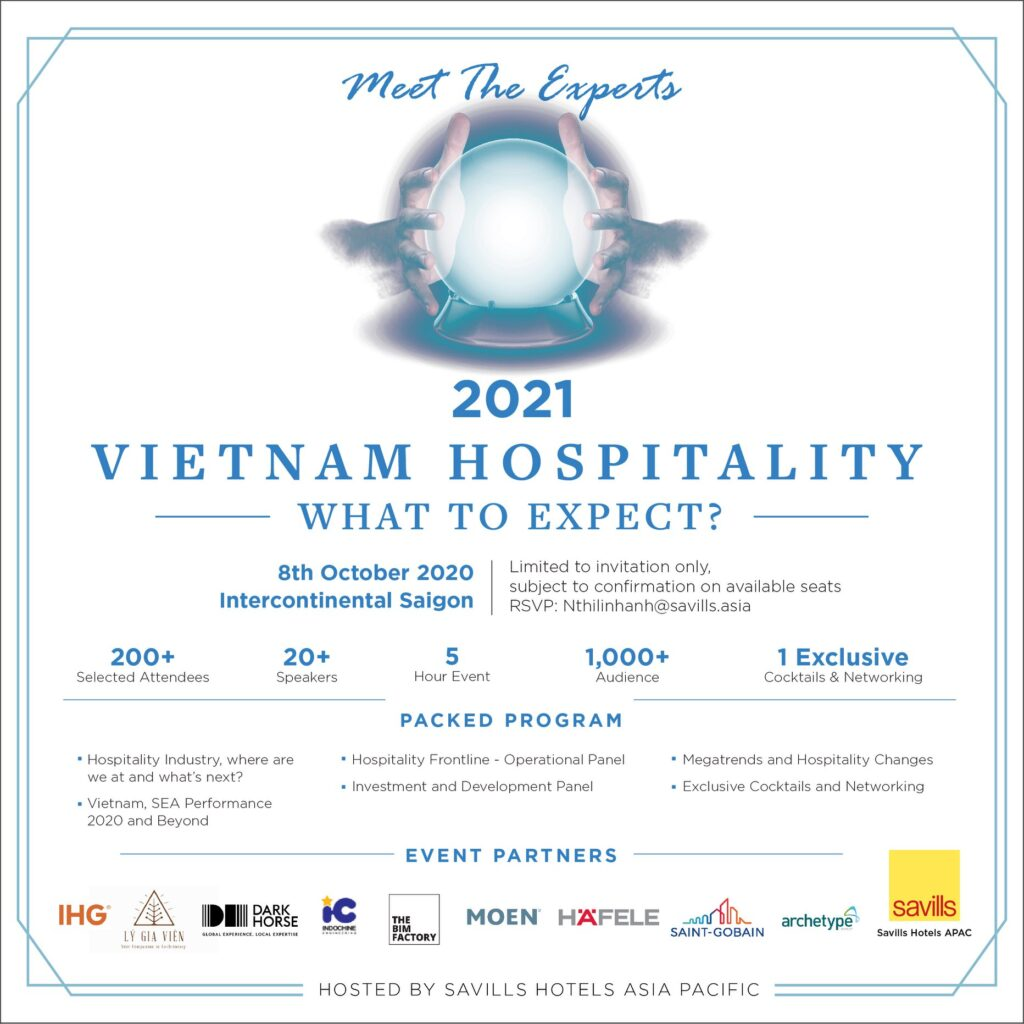 MEET THE EXPERTS 2021 - SAVILLS | Travels and Culture Asia - Hospitality Vietnam